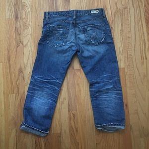 Ag Adriano Goldschmied Jeans - AG Ex-boyfriend Crop